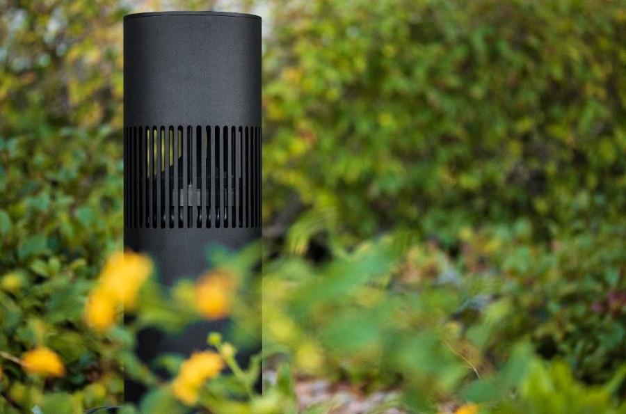Gävle Ljud installerar Origin Acoustics Bollard Landscape till uteplats, pool, trädgård och terass