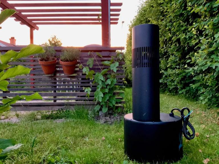 Uppackning av utomhushögtalare Bollard från Origin Acoustics