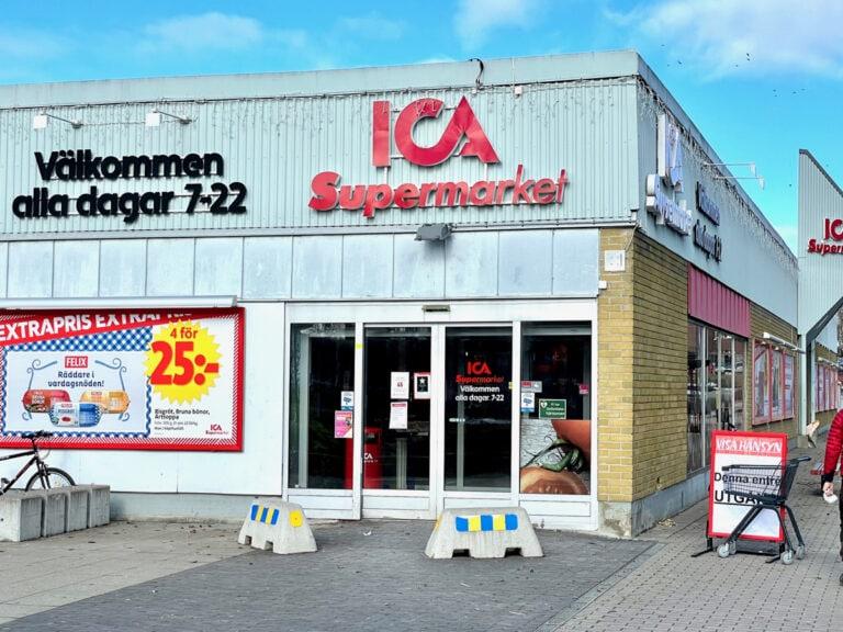 ICA Supermarket Hofors får nytt ljudsystem installerat av Gävle Ljud och levererat av Loud of Sweden.